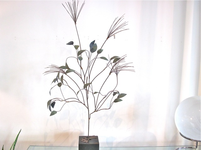 C. Jere Metal Tree Sculpture